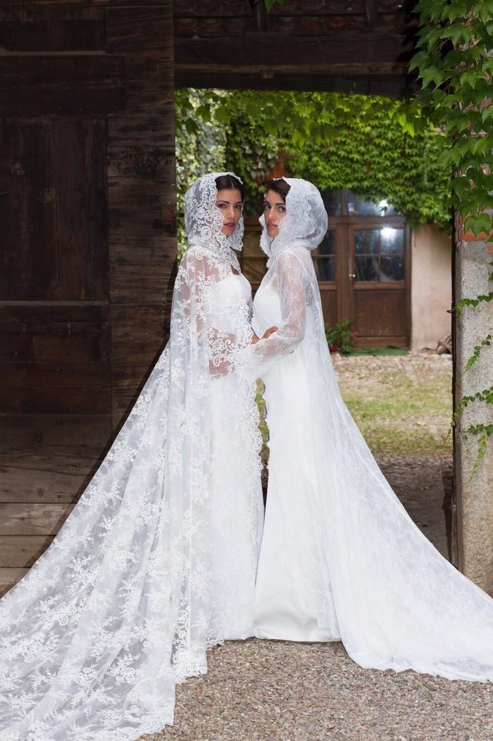 156c7cc1ee03 Abito da sposa Alessandro Tosetti 2018 Cloride e Astrea